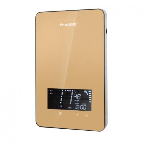 速热式智能恒温热水器精美、小巧、安装方便